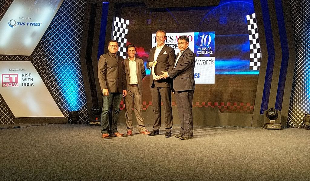 Luxury car maker of the year Mercedes-Benz