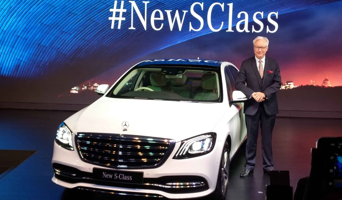 Mercedes-Benz launches the S 350 d and S 450 at Rs 1.33 crore and Rs 1.37 crore respectively