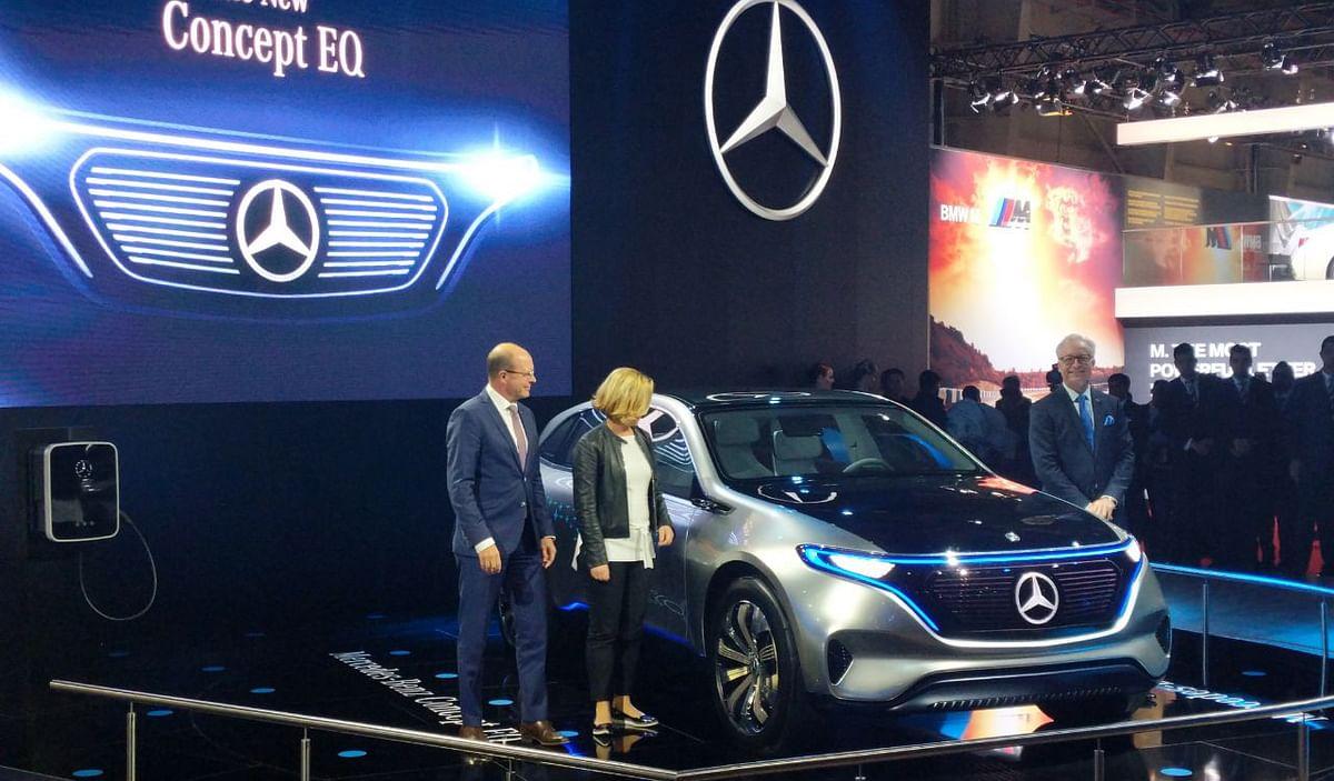 Auto Expo 2018: Mercedes-Benz showcases its Concept EQ