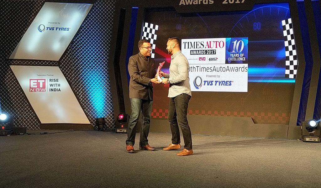 Motorsport award of the year Gaurav Gill