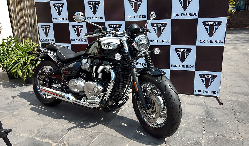 Triumph Speedmaster launched at Rs 11.11 lakh