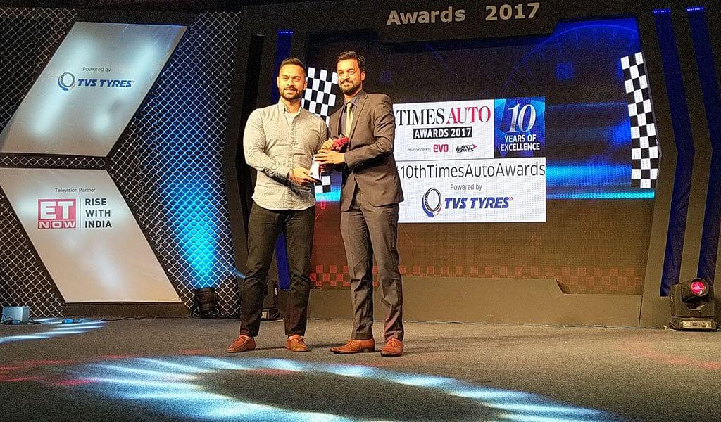 Thrill of Driving Award Skoda Octavia RS