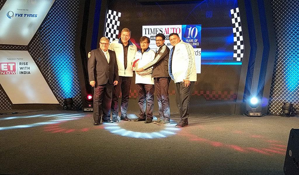 UV/MPV of the year, Tata Hexa