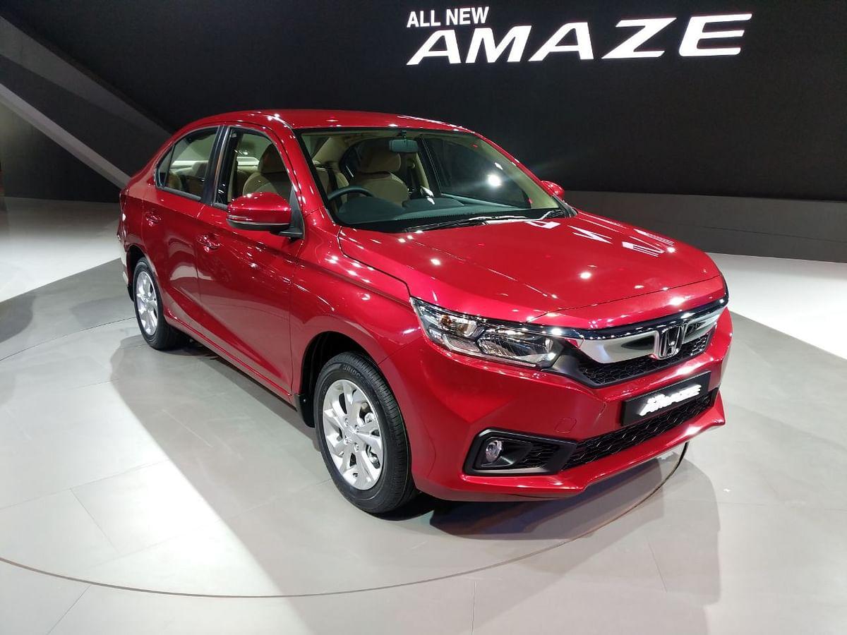 Honda unveils second generation Amaze