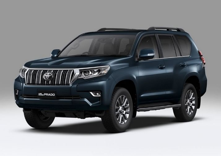 Auto Expo 2018: Toyota presents the new Land Cruiser Prado