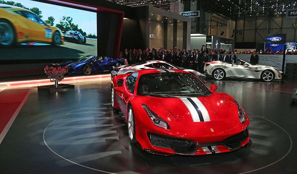 Geneva Motor Show 2018: Ferrari 488 Pista showcased