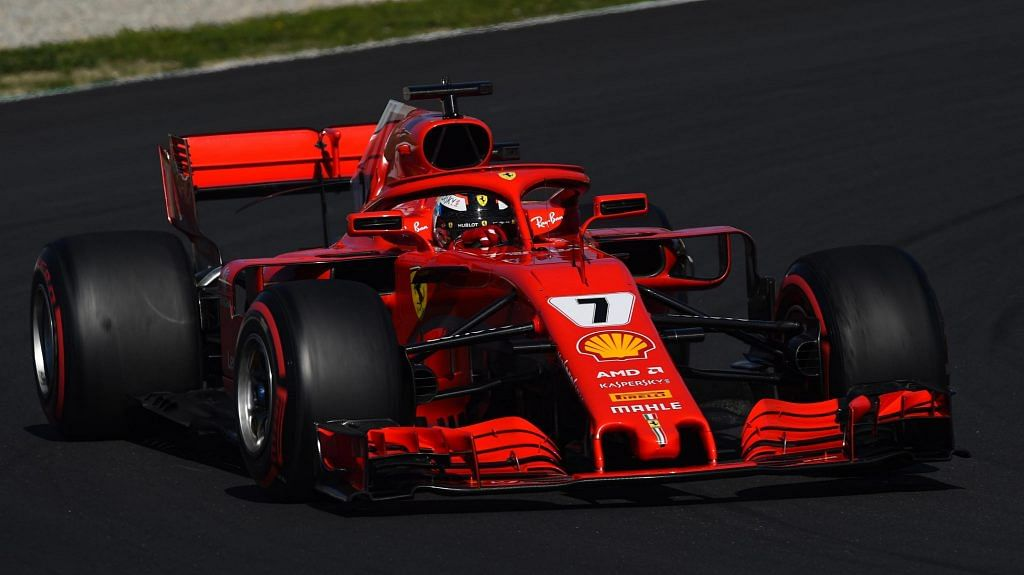 Ferrari have gone all red