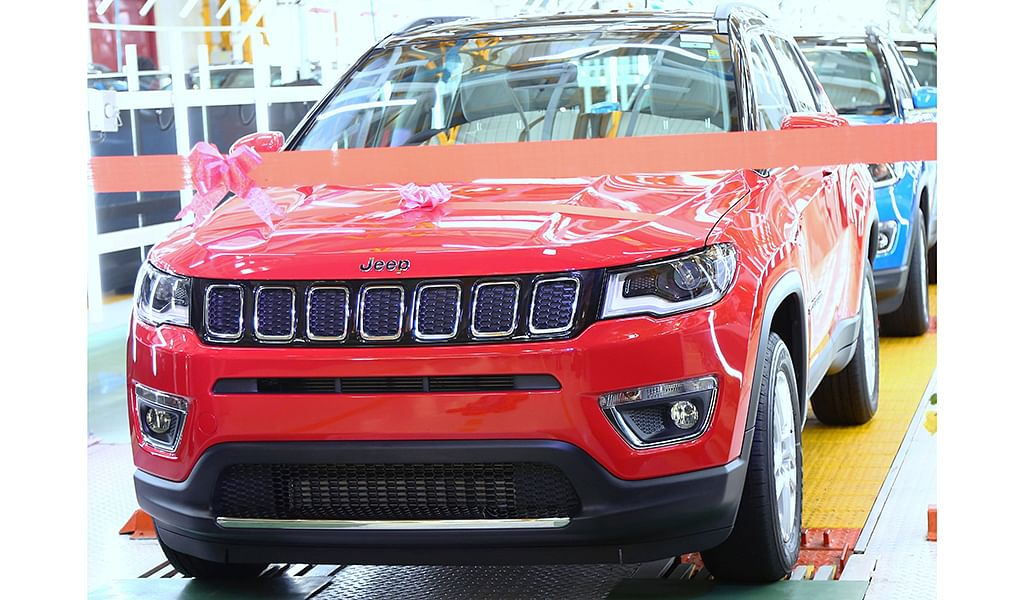 Jeep Compass is India's most awarded SUV of 2017