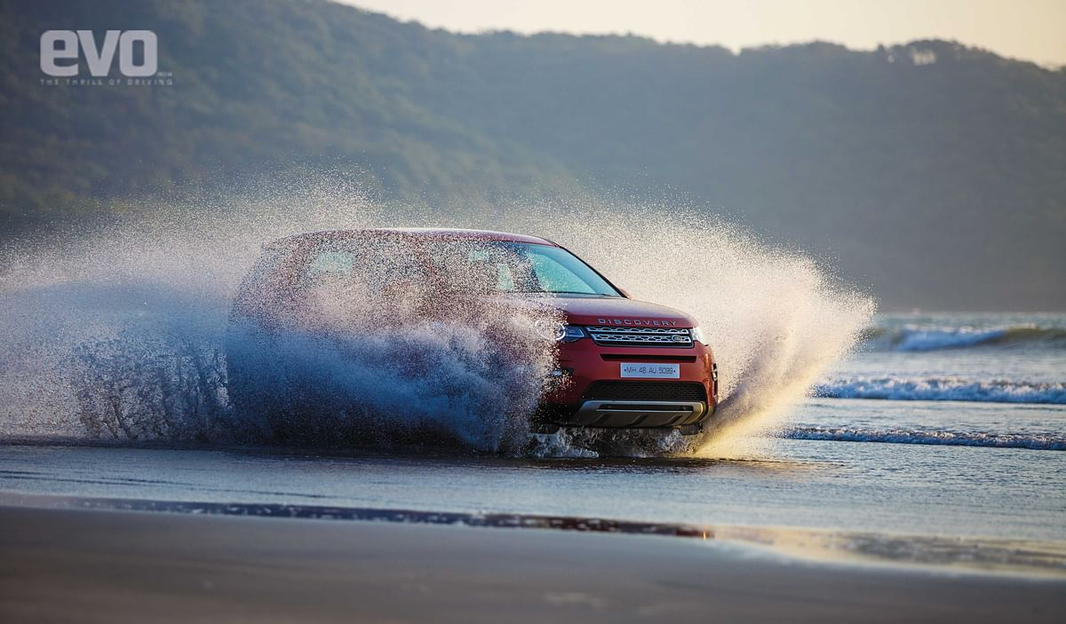 Sun, sand and surf in the Land Rover Discovery Sport, that phrase gets an all new meaning