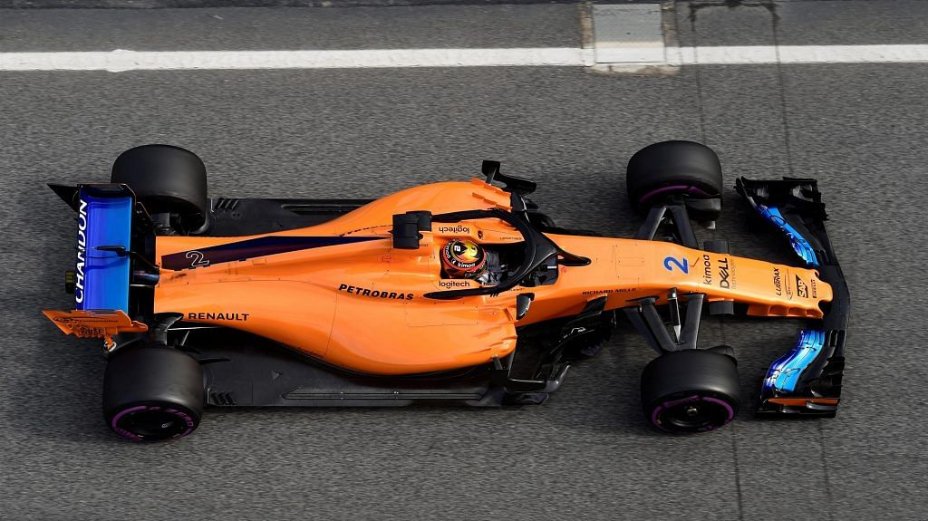 Pre-season tests in Barcelona for McLaren have been underwhelming
