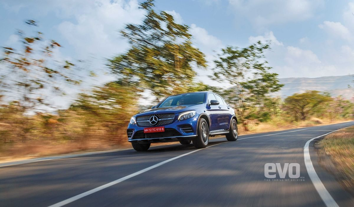 AMG Hill Climb: Mercedes-AMG GLC 43 Coupé to Sinhgad Fort