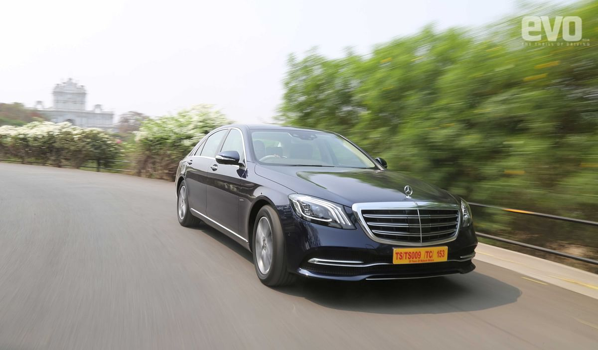 Mercedes-Benz S-Class, 350d review, test drive