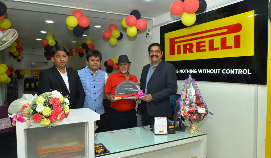Pirelli opens a new store in Agra