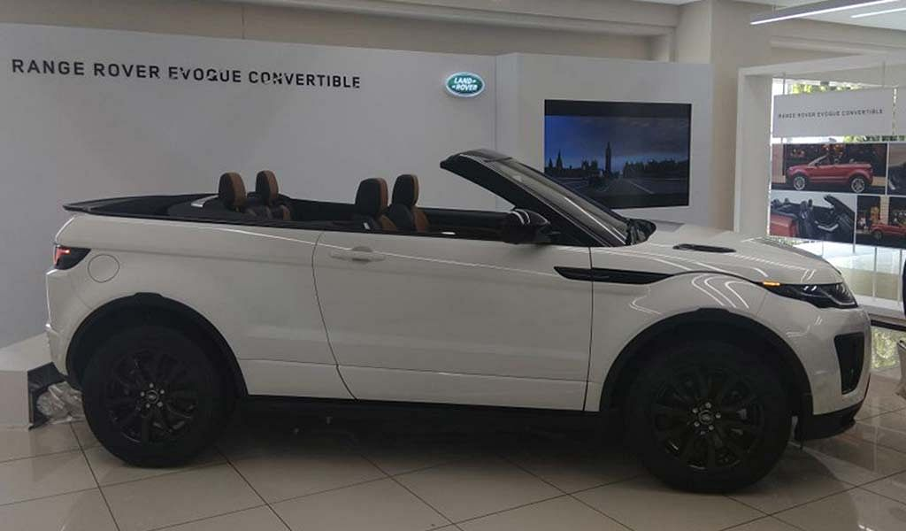 Range Rover Evoque Convertible launched at Rs 69.53 lakh