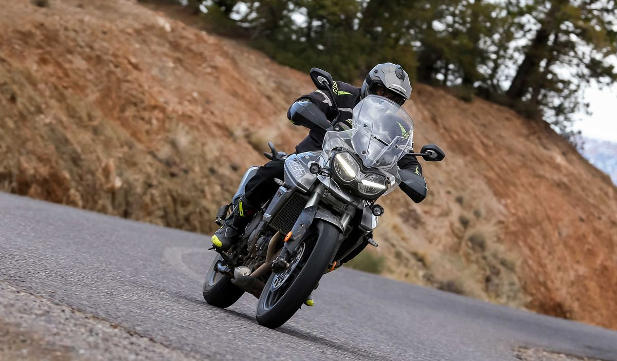 Triumph 2018 Tiger 800 range launched