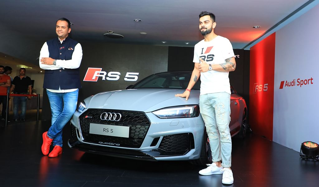 Audi RS5 launched at Rs 1.1 crore (ex-showroom)