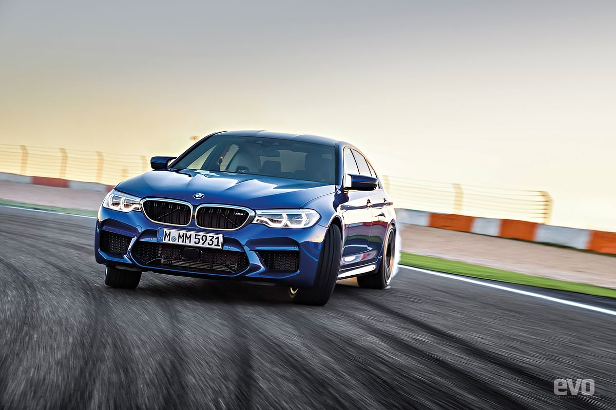 Sirish's blog: The Ed talks about the new BMW M5 and its evolution