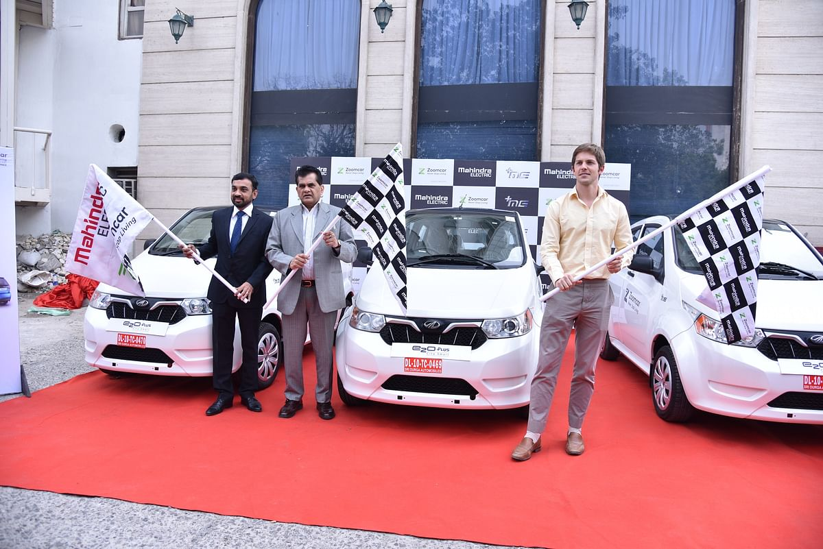 Mahindra Electric and Zoomcar join hands to offer self drive EVs in Delhi