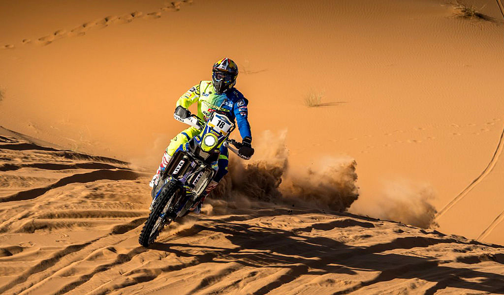 Merzouga Rally 2018 kick-starts with a free practice session and prologue stage