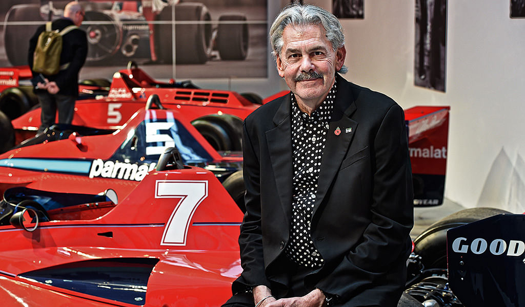 Gordon Murray is the man behind the McLaren F1