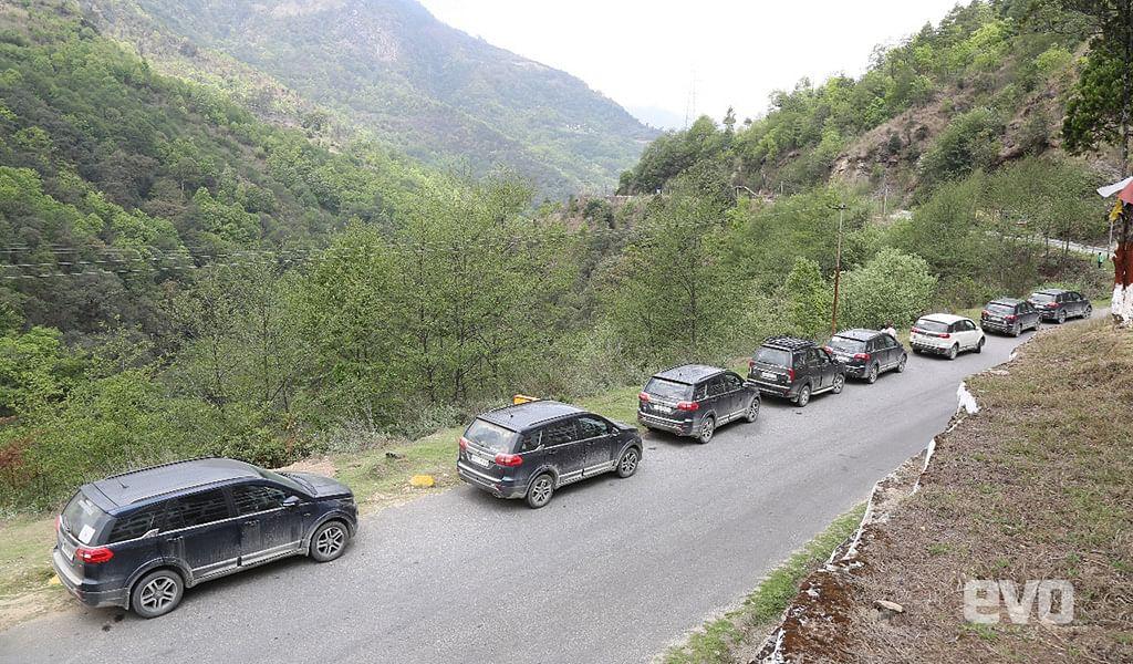Heading from Sela Pass to Tawang