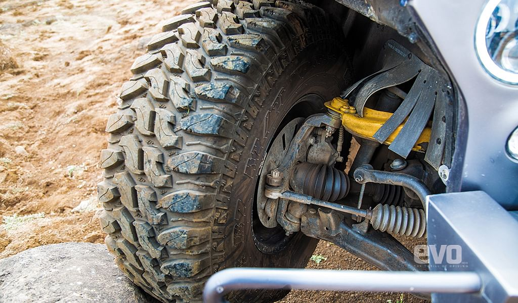 Driven: Mahindra Thar Wanderlust. Review of 4×4 'The Rock' would drive