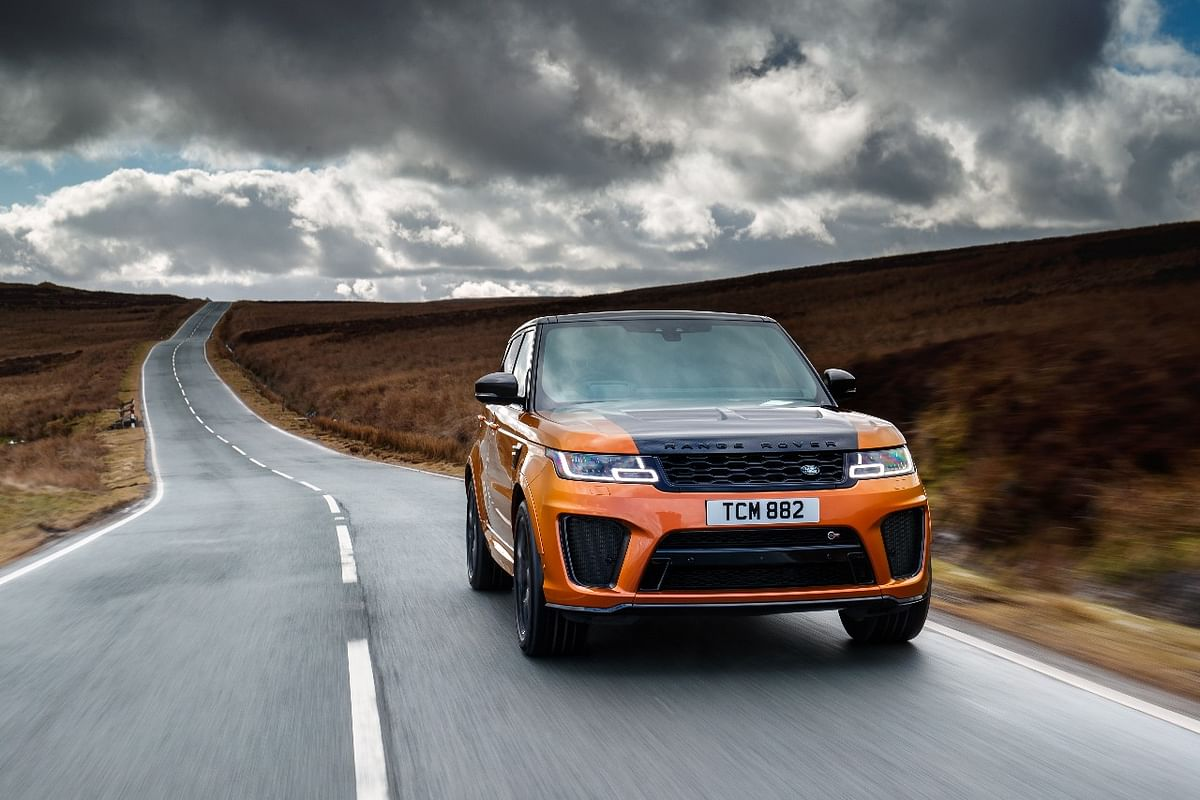 Test Drive Review: Range Rover Sport SVR