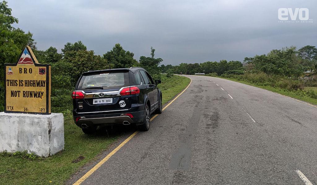 Hexa on a highway