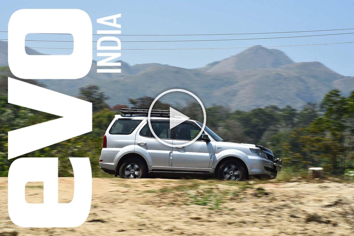 Roadtrip to Coorg in a Tata Safari Storme