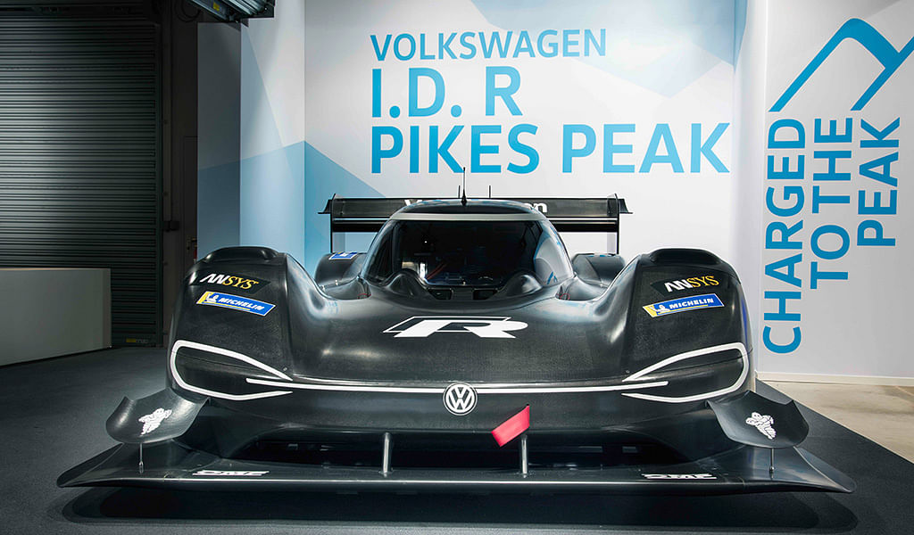 Volkswagen showcases I.D. R Pikes Peak