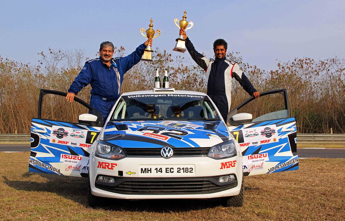 Vicky Chandhok grabs podium finish in the first round of INRC 2018