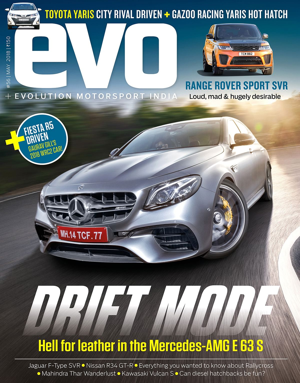 evo India May 2018 issue on stands now. Exclusive Merc-AMG E 63 S