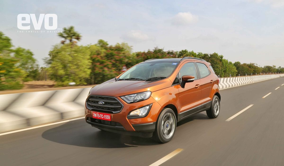 First Drive Review: Ford Ecosport S