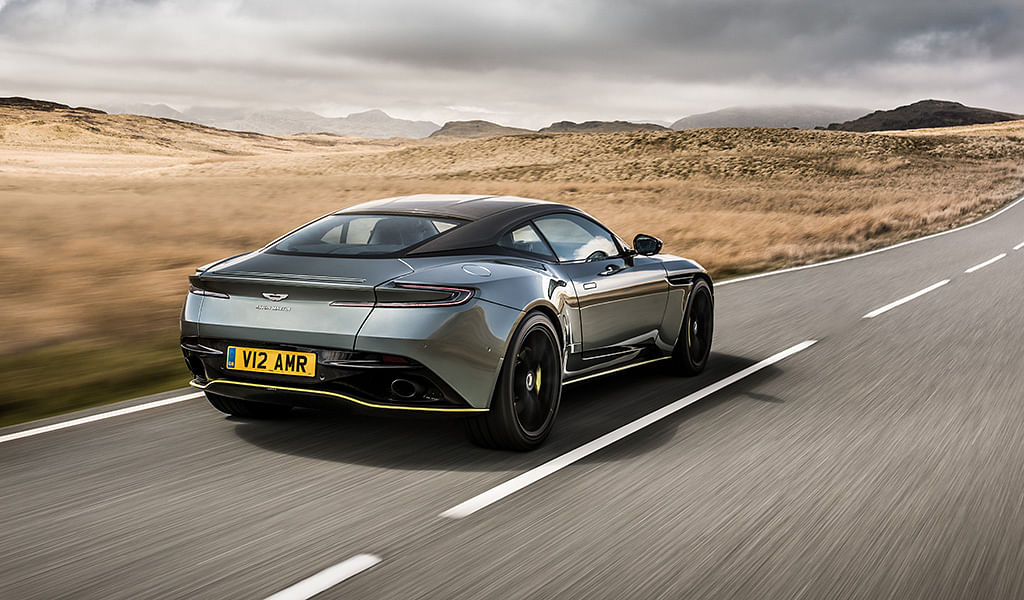 Aston Martin DB11 gets more power in AMR guise along with new carbonfibre bits