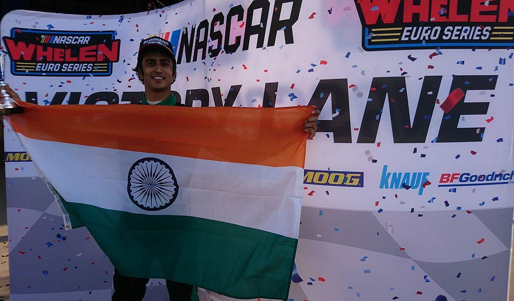 Indian racer Advait Deodhar leads 2018 NASCAR Whelen Euro Series championship