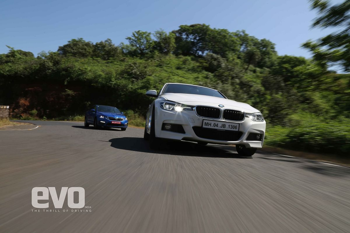 The million dollar question: A FWD Skoda or a RWD BMW?