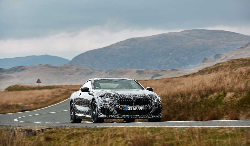 BMW 8 Series Coupe in final stages of development process