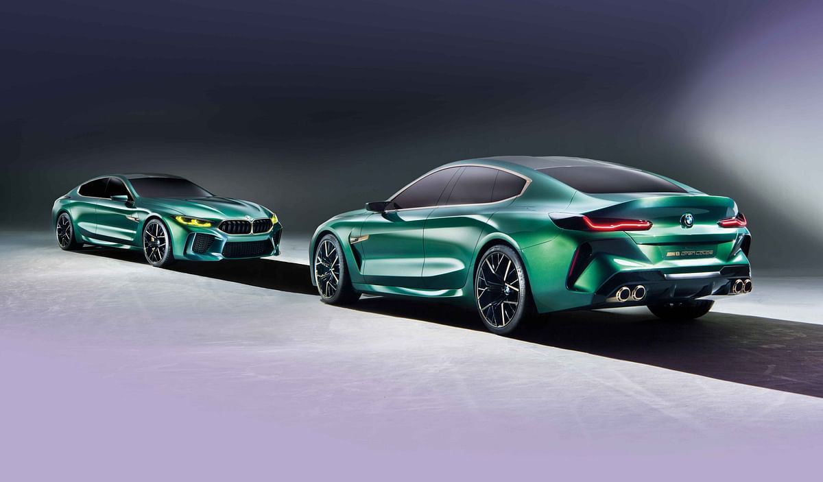 First look: BMW M8 Gran Coupe Concept