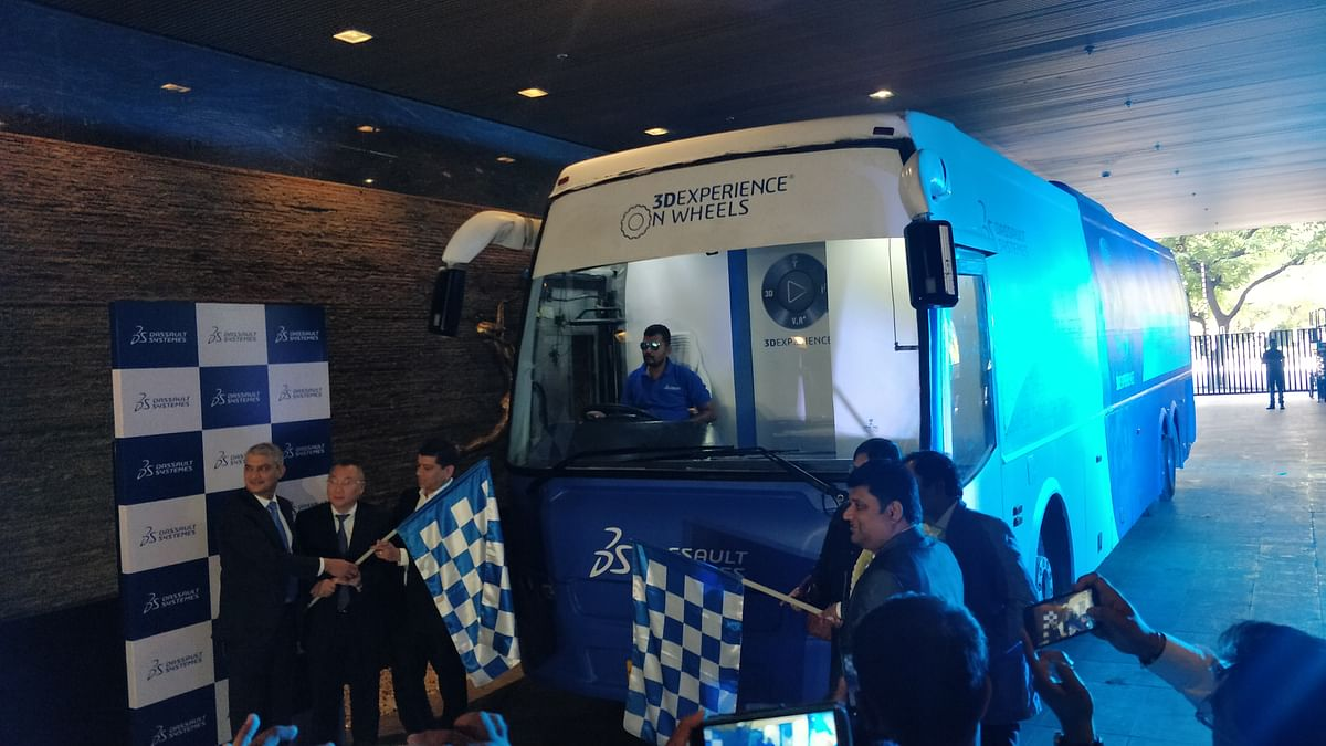 Dassault Systemes flags off its nation-wide '3DExperience on Wheels' initiative