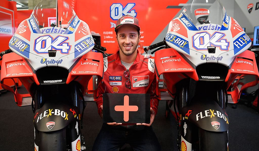 Ducati renews contract with Andrea Dovizioso for another two years