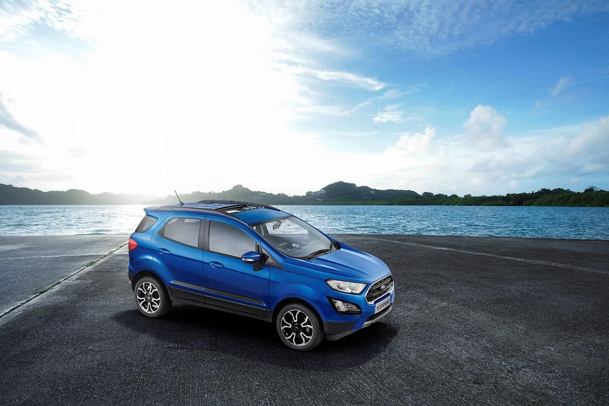 Ford Ecosport S and Signature Edition launched