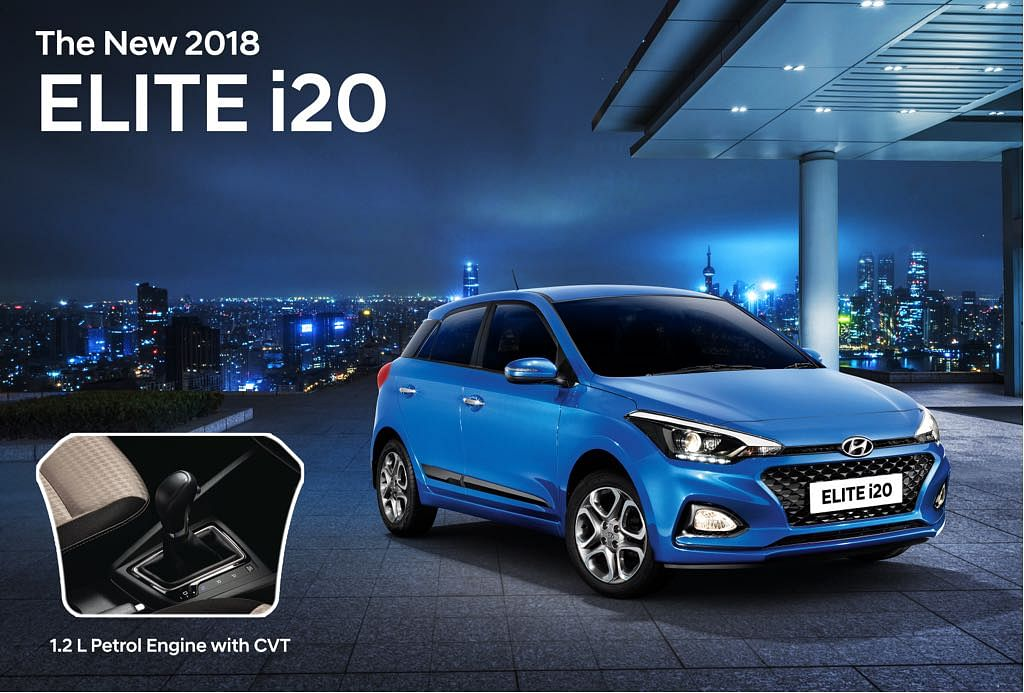 Hyundai Elite i20 1.2-litre petrol engine gets a CVT