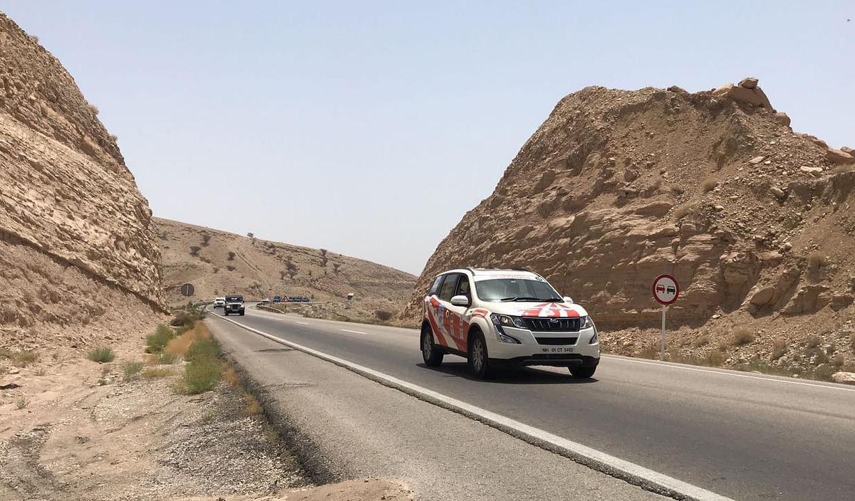 Blog 4: INSTC Friendship rally hits the road in Iran. Day one – Bandar Abbas to Shiraz