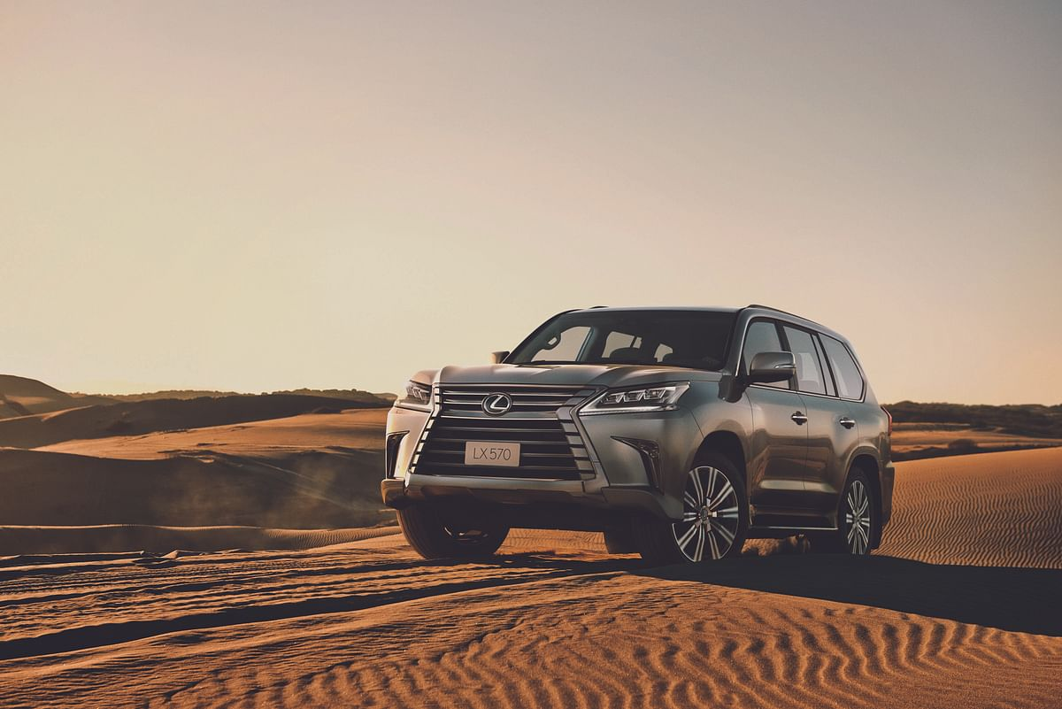 Lexus launches the LX 570 in India at Rs 2.32 crore