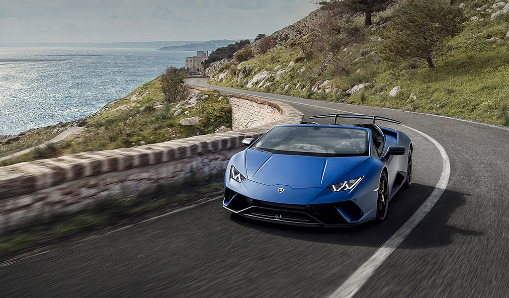 First look: Lamborghini Huracán Performante Spyder