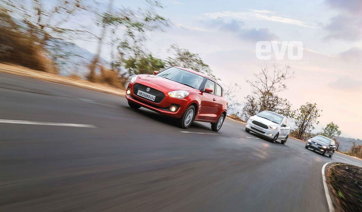 Diesel hatchback comparo: Maruti Suzuki Swift v Ford Figo S v Volkswagen Polo GT TDI