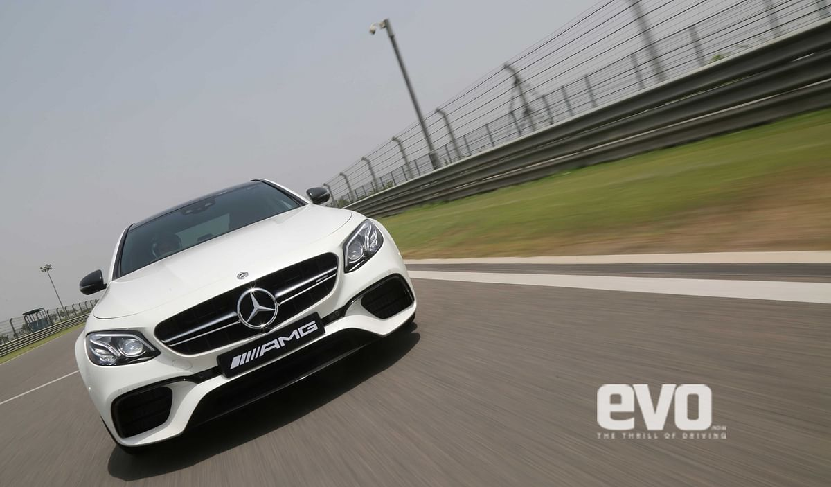 First Drive Review: Mercedes-Benz E 63 S AMG track experience