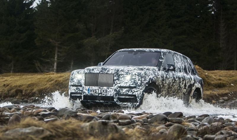 Rolls-Royce Cullinan's 'Final Challenge' concludes ahead of unveil on May 10