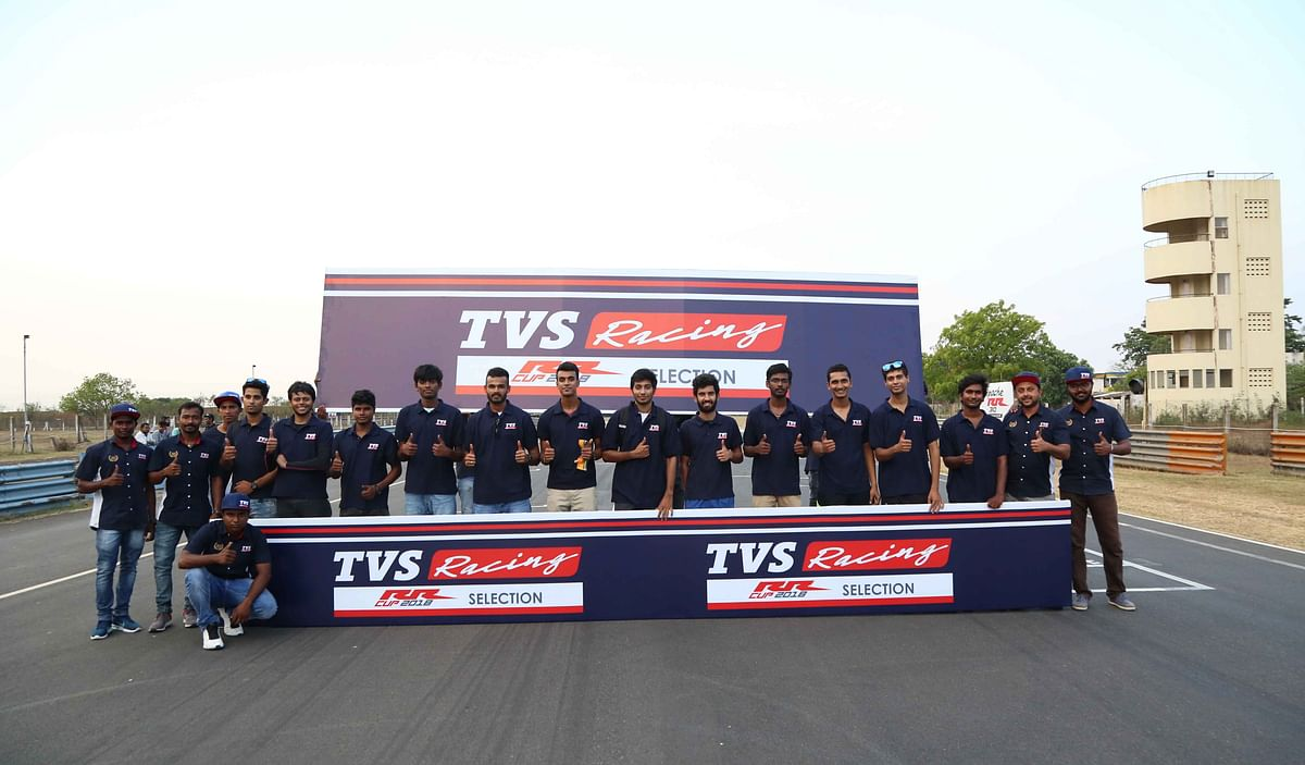TVS confirms the list of riders to race in the Apache RR One Make Series