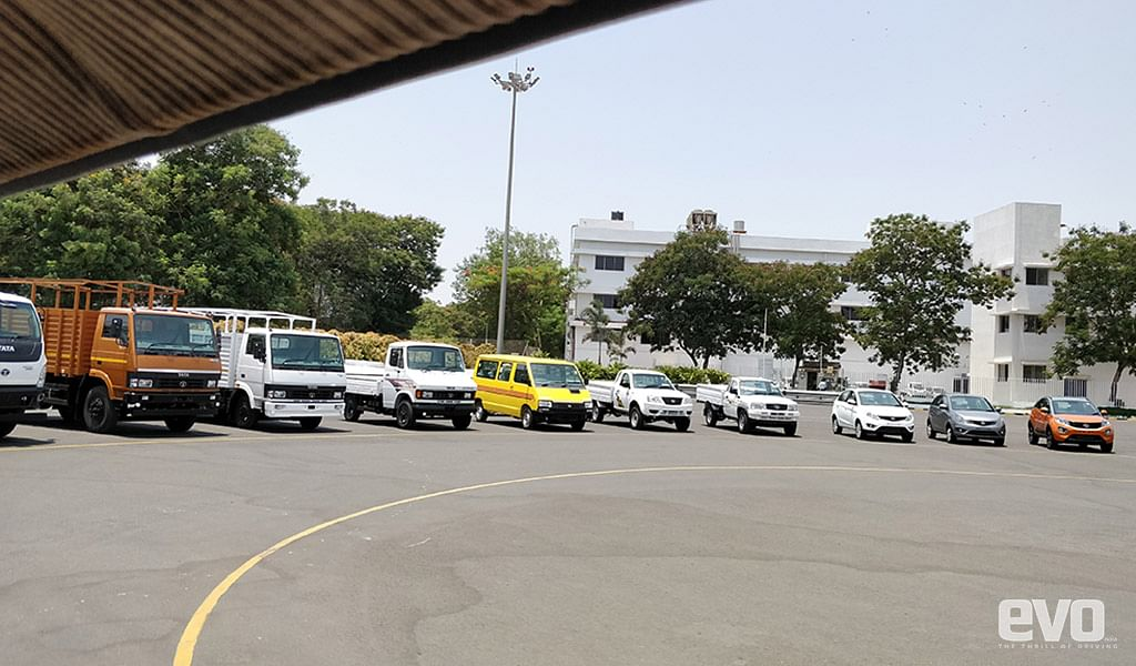 A visit to Tata Motors' CVBU and PVBU plant in Pune